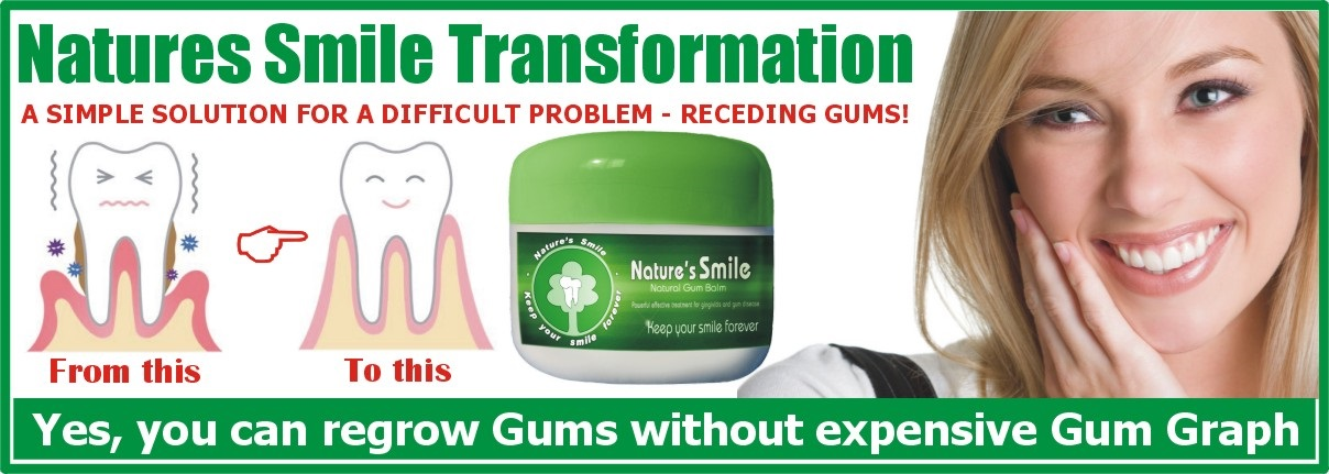 regrow receding gums naturally